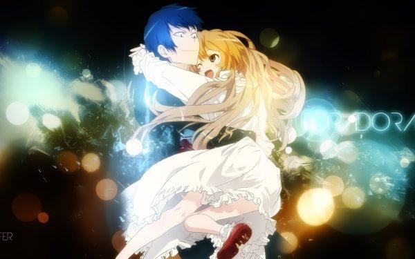 Anime Toradora! Taiga Aisaka Ryuuji Takasu HD Wallpaper | Background Image