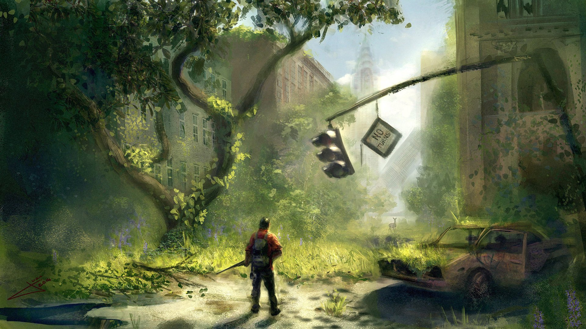 The Last Of Us HD Wallpaper | Background Image | 1920x1080 ...