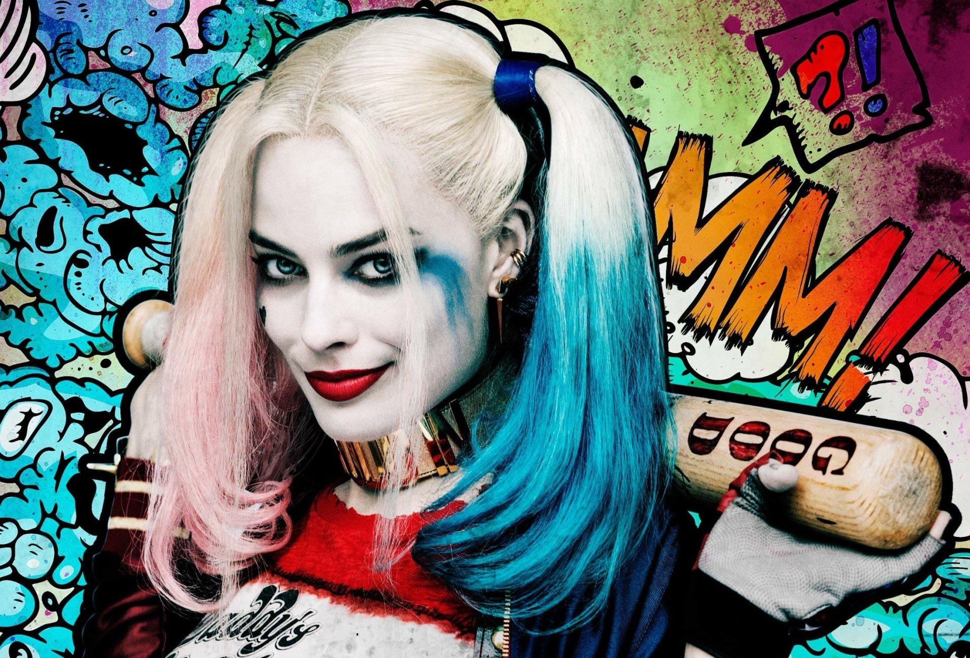 Movie - Suicide Squad  Margot Robbie Harley Quinn Wallpaper