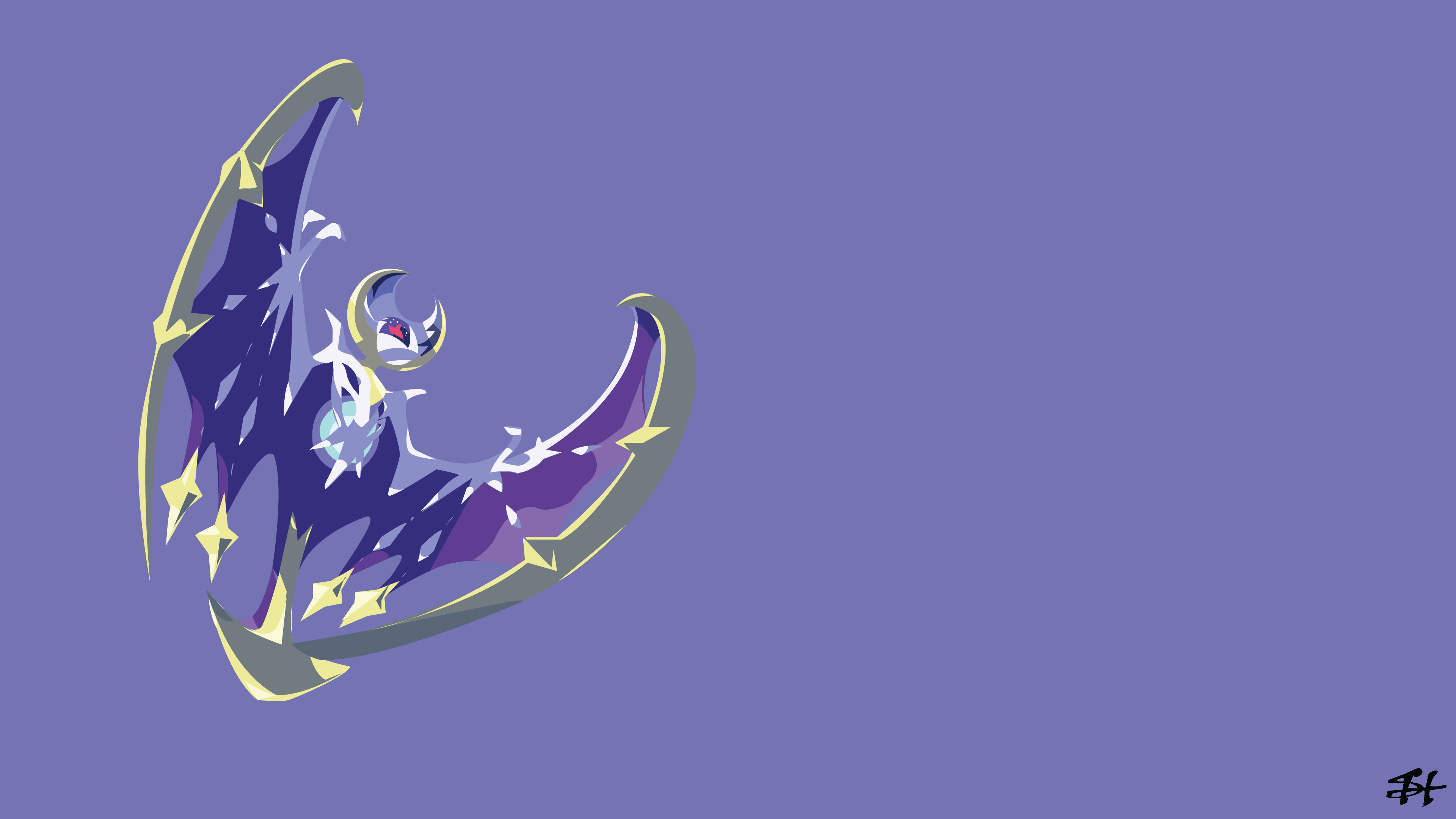Pokemon Sun And Moon Wallpaper: Lunala 4k Ultra HD Wallpaper And Background Image