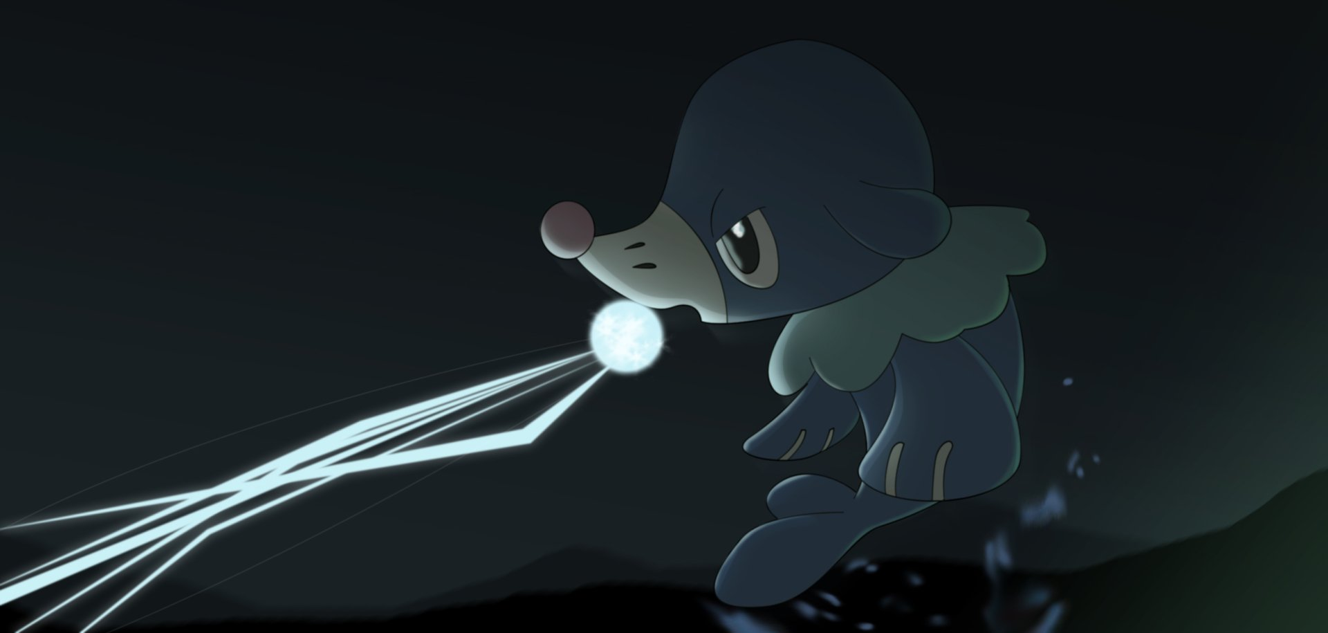 Pokemon Sun And Moon Wallpaper: Popplio HD Wallpaper