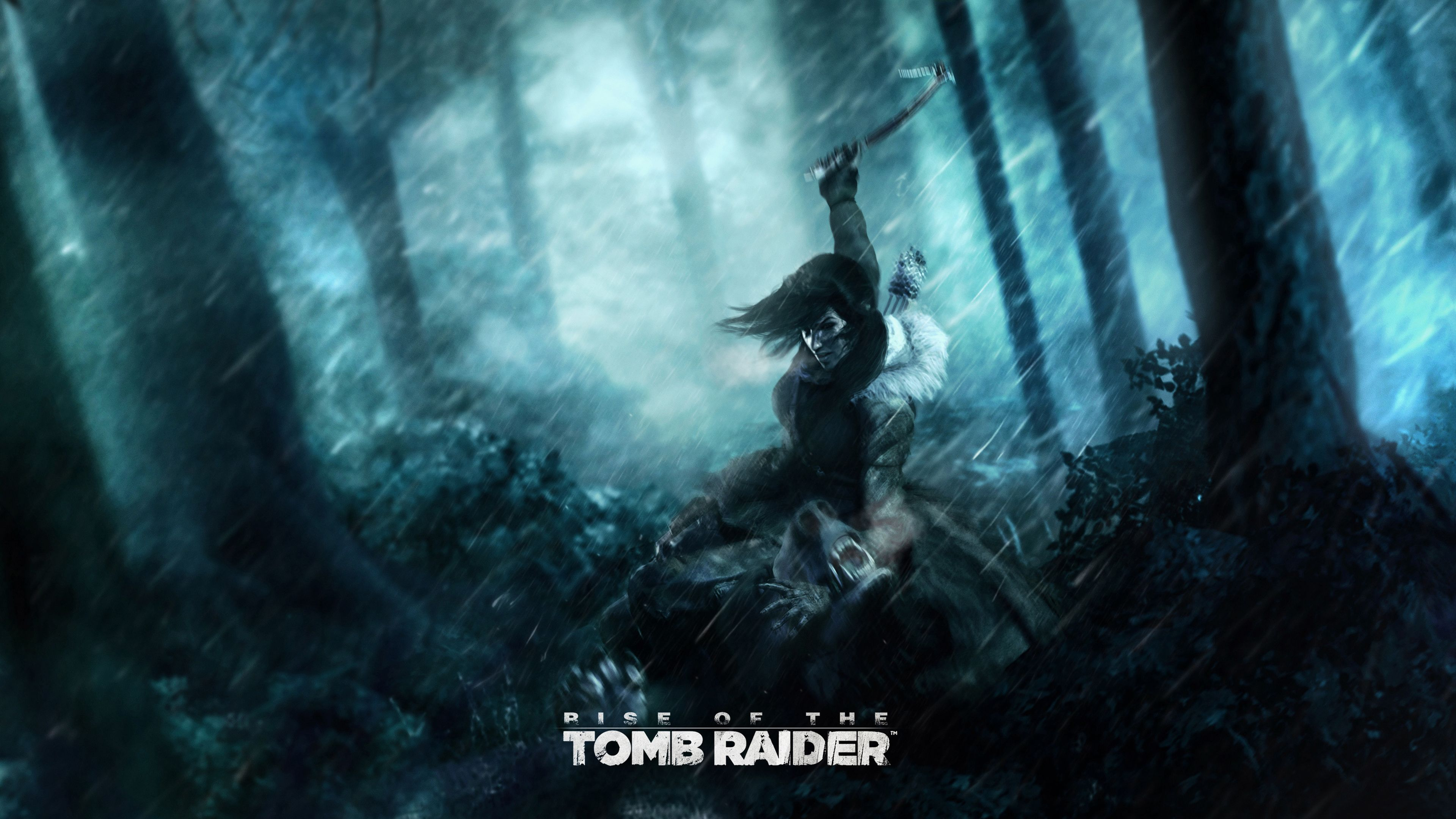 Rise Of The Tomb Raider 4k Ultra Hd Wallpaper Background Image