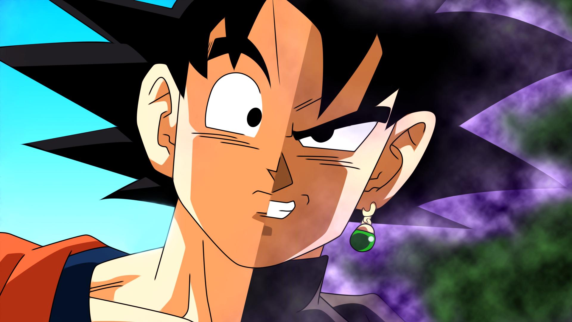 Anime - Dragon Ball Super  Goku Dragon Ball Black Goku Black (Dragon Ball) Fond d'écran