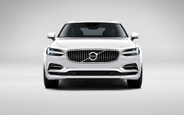 Vehicles Volvo S90 Volvo Car Luxury Car White Car HD Wallpaper | Background Image