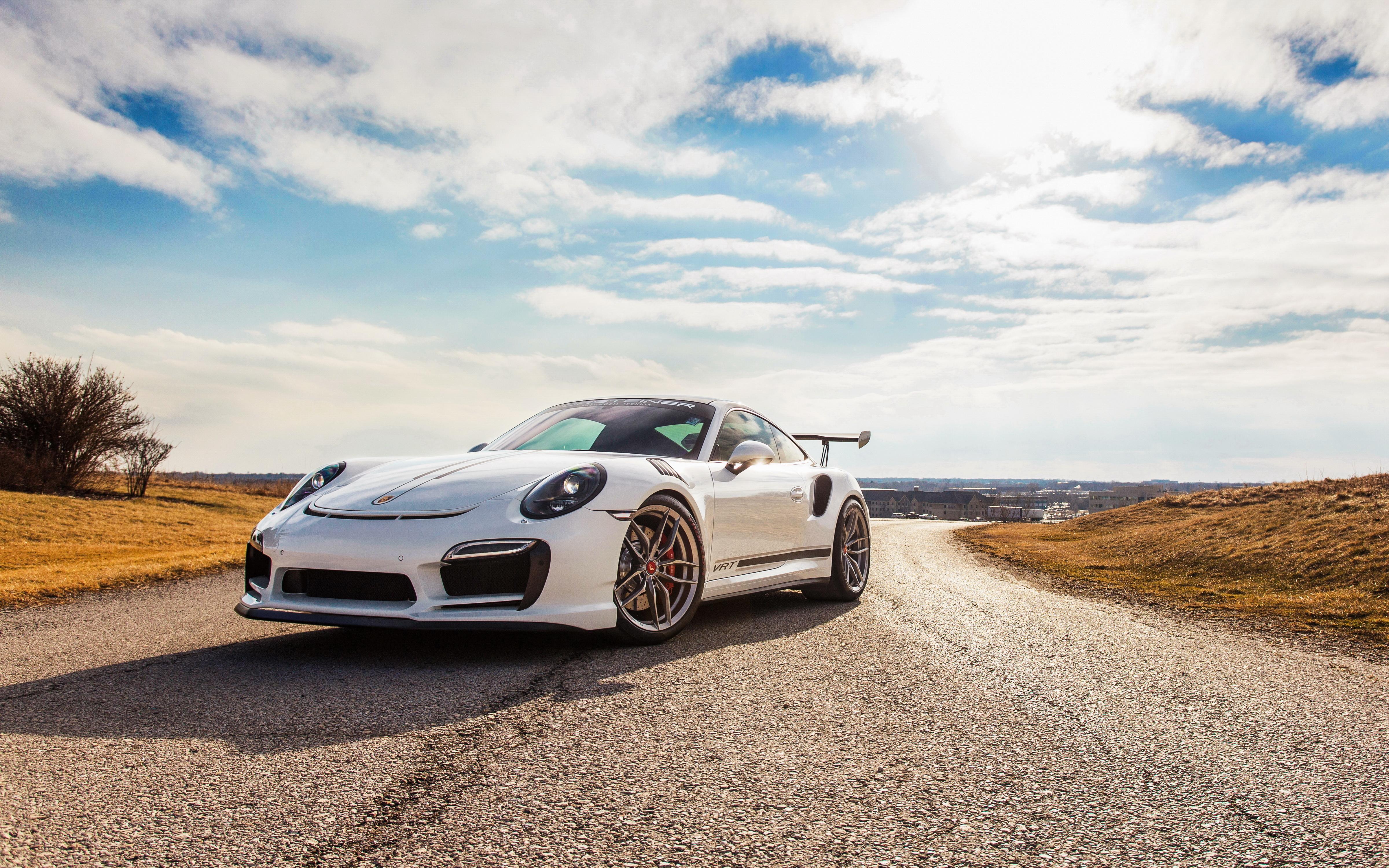 Vorsteiner Porsche 991 Turbo Vrt 4k Ultra Fondo De Pantalla