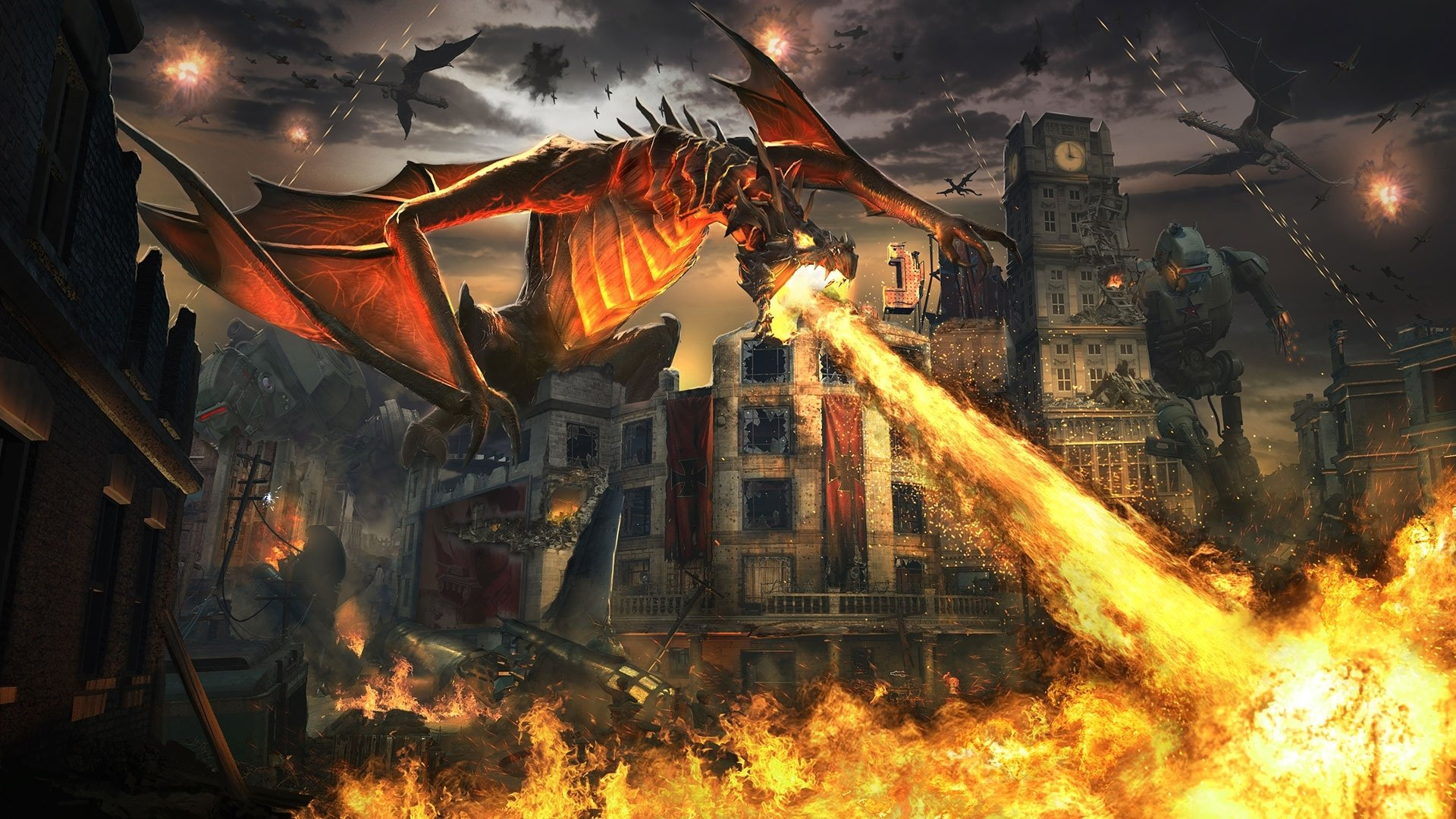 Video Game - Call of Duty: Black Ops III  Dragon Fire Wallpaper