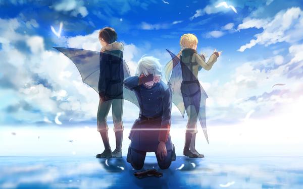 Anime Aldnoah.Zero Asseylum Vers Allusia Slaine Troyard Inaho Kaizuka HD Wallpaper | Background Image