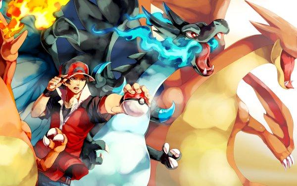 Videojuego Pokémon Red Charizard Mega Charizard X Mega Charizard Y Fondo de pantalla HD | Fondo de Escritorio