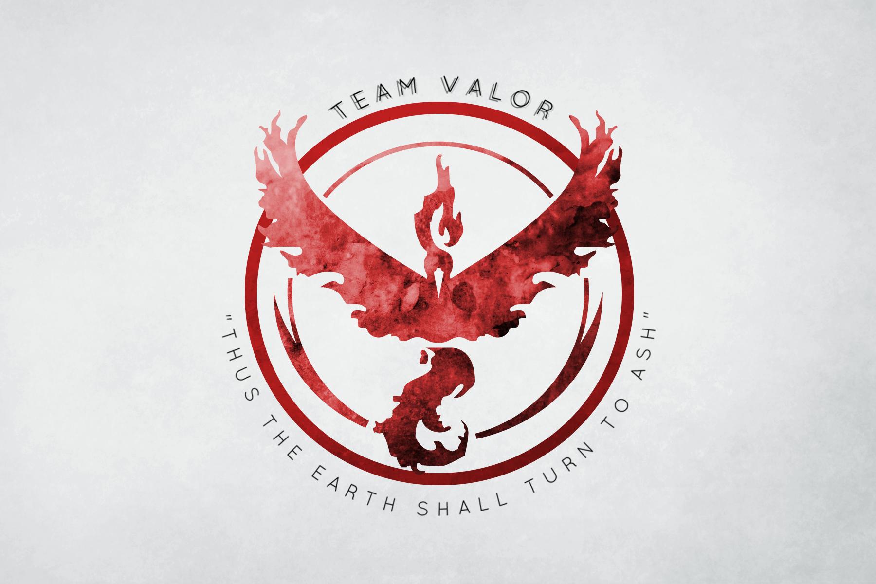 Pokemon Go Team Valor Wallpaper And Background Image
