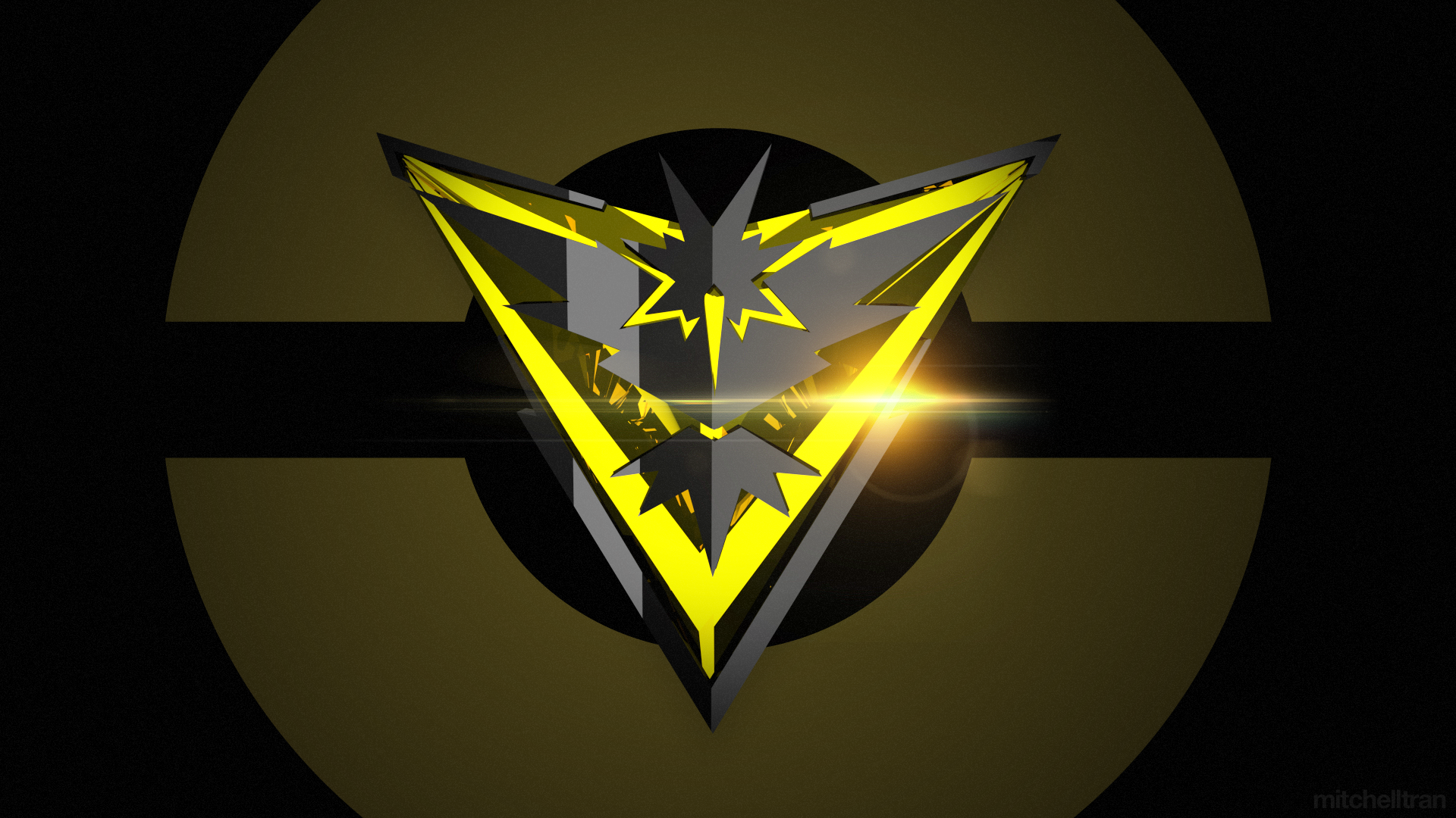 Video Game - Pokémon GO  Pokemon Go Team Instinct Wallpaper