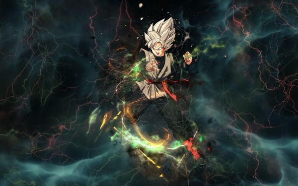 Anime Dragon Ball Super Dragon Ball Black Black Goku HD Wallpaper | Background Image