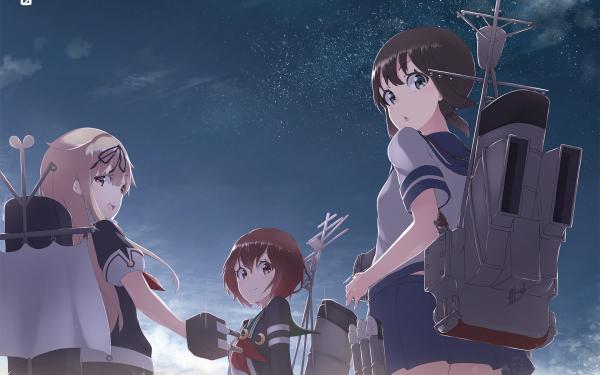 Anime Kantai Collection Fubuki Yuudachi Mutsuki HD Wallpaper | Background Image