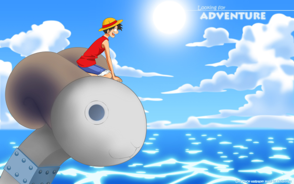 Anime One Piece Monkey D. Luffy Going Merry HD Wallpaper   Background Image