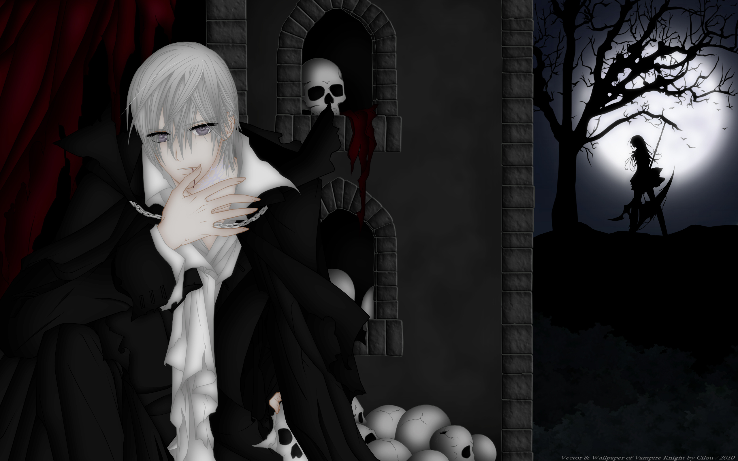 Vampire knight hd wallpaper background image 2560x1600 - Vampire knight anime wallpaper ...