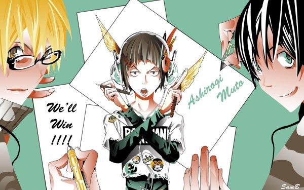 Anime Bakuman Akito Takagi Eiji Niizuma Moritaka Mashiro Fond d'écran HD | Arrière-Plan