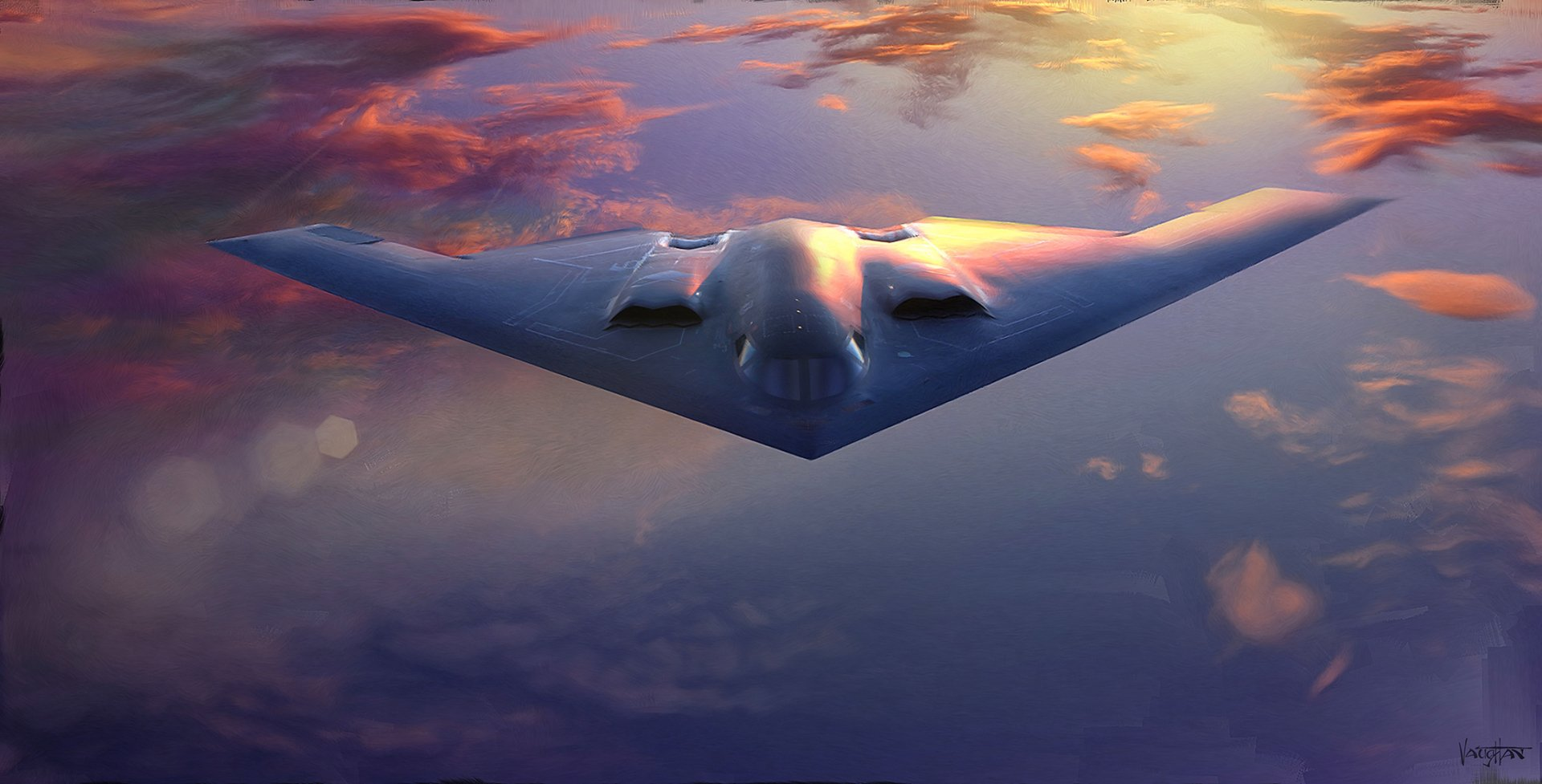Military - Northrop Grumman B-2 Spirit  Warplane Bomber Aircraft Air Force Airplane Military Wallpaper