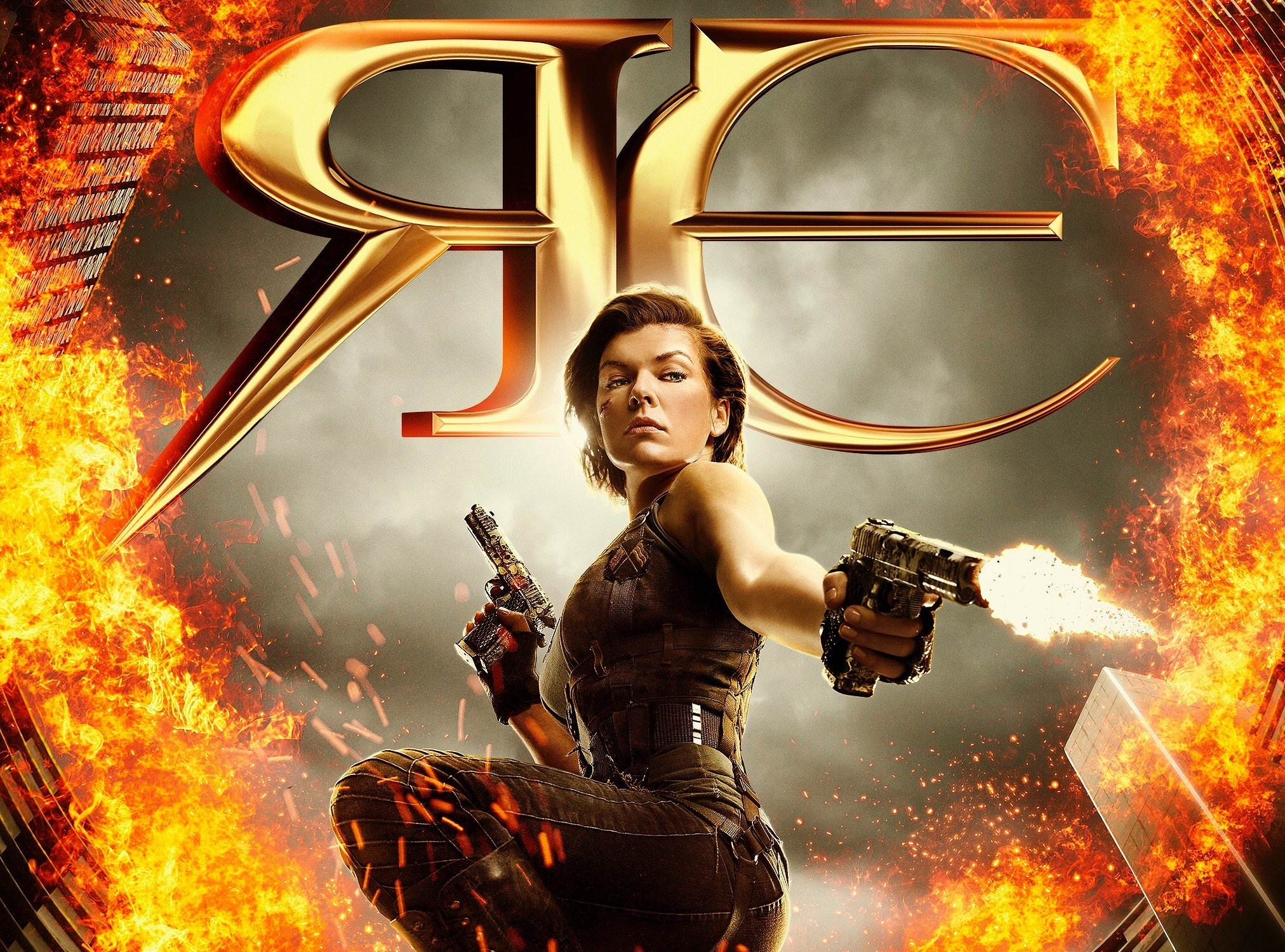 Resident Evil The Final Chapter Fondo De Pantalla Hd
