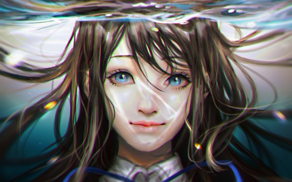 Anime Amanchu! Futaba Ooki HD Wallpaper | Background Image