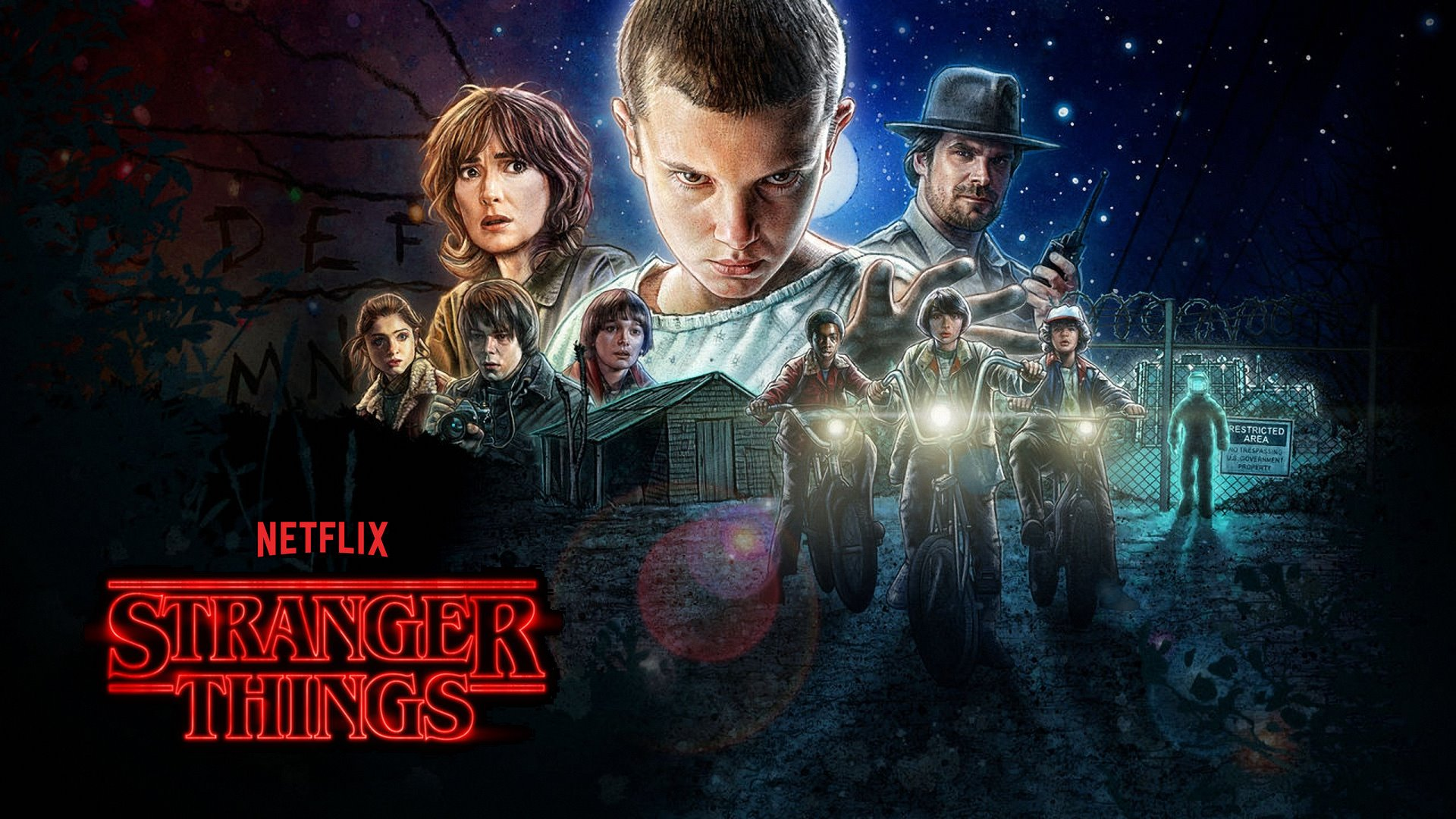 Image result for stranger things WALLPAPER