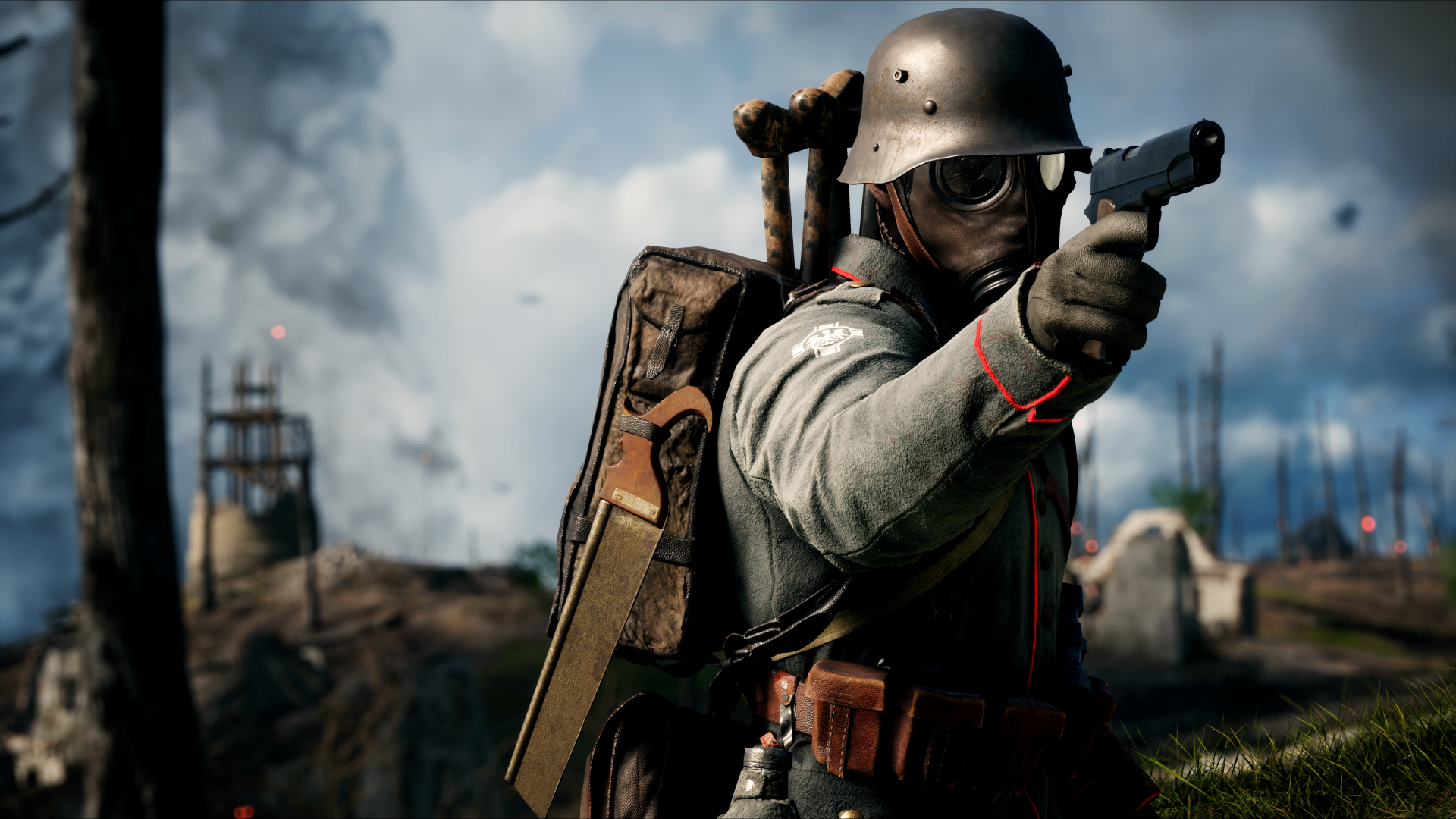 Video Game - Battlefield 1  Gas Mask Wallpaper