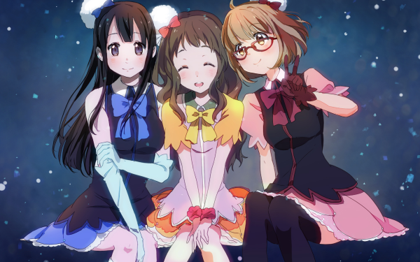 Anime Beyond the Boundary Mirai Kuriyama Mitsuki Nase Ai Shindou HD Wallpaper   Background Image