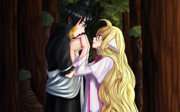 Anime Fairy Tail Zeref Dragneel Mavis Vermilion Fond d'écran HD   Image
