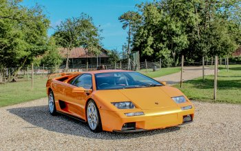 12 Lamborghini Diablo Hd Wallpapers Background Images Wallpaper