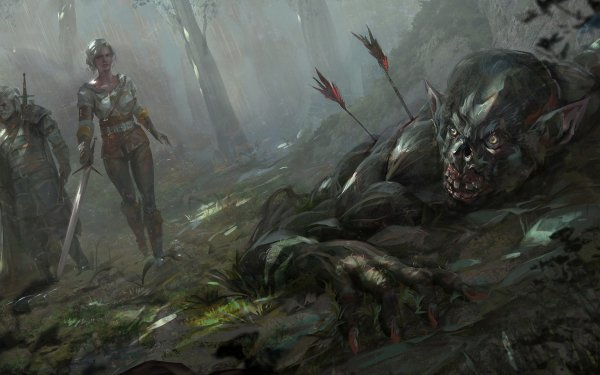 Video Game The Witcher 3: Wild Hunt The Witcher Geralt of Rivia Ciri HD Wallpaper   Background Image