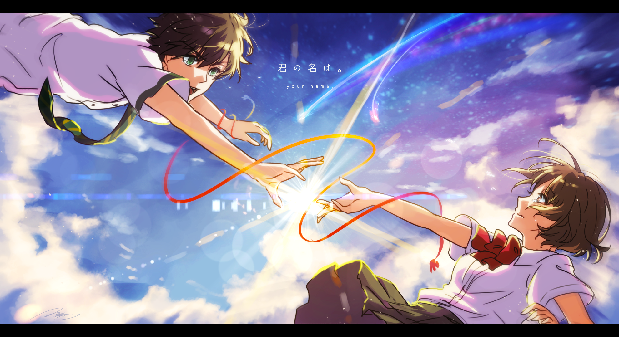 Hd wallpaper kimi no na wa - Kimi No Na Wa Mitsuha Miyamizu Your Name Hd Wallpaper Background Id 732084