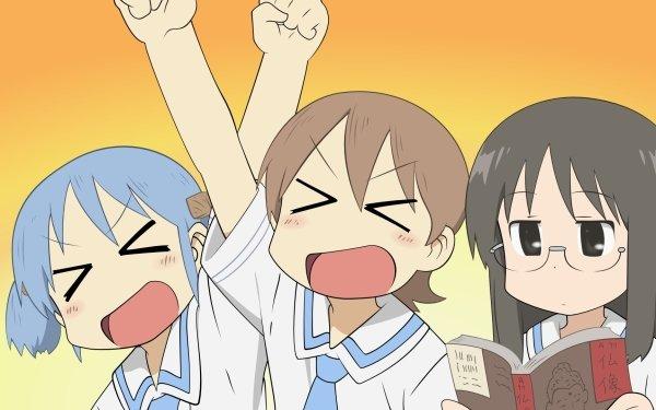 Anime Nichijō Mio Naganohara Yuuko Aioi Mai Minakami HD Wallpaper | Background Image