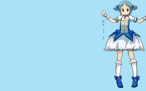 Anime Nichijō Mio Naganohara HD Wallpaper | Background Image