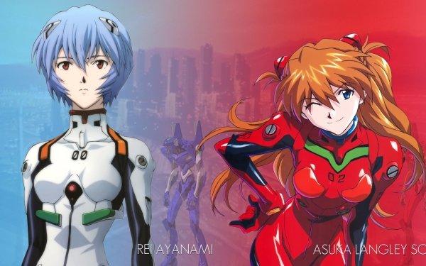 Anime Neon Genesis Evangelion Evangelion Gendo Ikari Shinji Ikari Rei Ayanami Asuka Langley Sohryu Mari Makinami Illustrious Misato Katsuragi Fondo de pantalla HD | Fondo de Escritorio