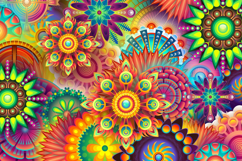 Colorful vector fondo de pantalla hd fondo de escritorio for Wallpaper styles and colors