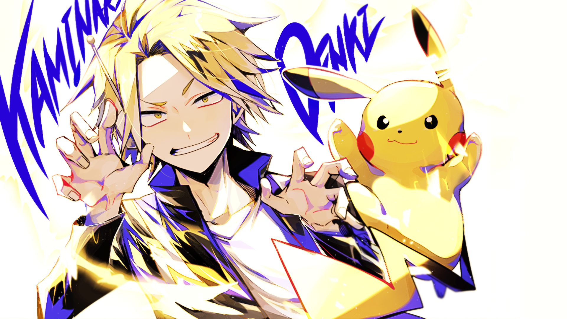 124 Denki Kaminari Hd Wallpapers Background Images