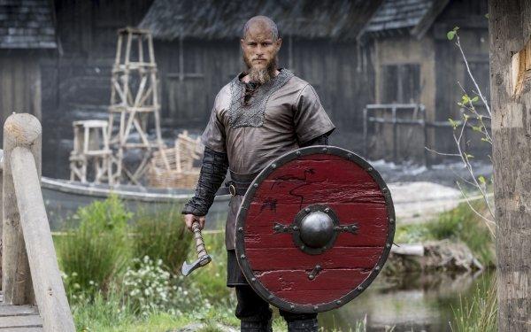 TV Show Vikings Travis Fimmel Ragnar Lothbrok HD Wallpaper | Background Image