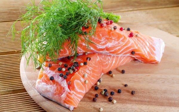 Alimento Pescado Salmon Fondo de pantalla HD   Fondo de Escritorio