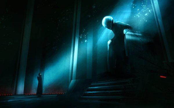 Movie Star Wars Episode VII: The Force Awakens Star Wars Kylo Ren Supreme Leader Snoke HD Wallpaper   Background Image