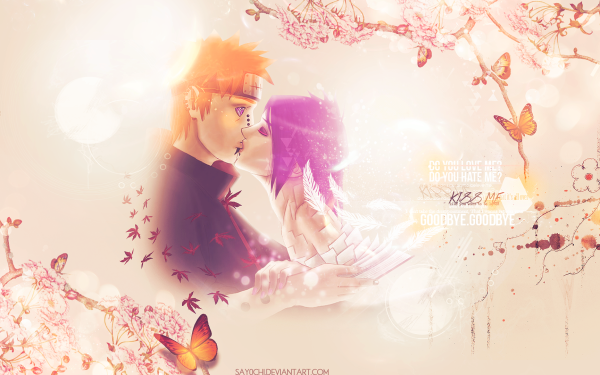 Anime Naruto Pain Konan HD Wallpaper   Background Image