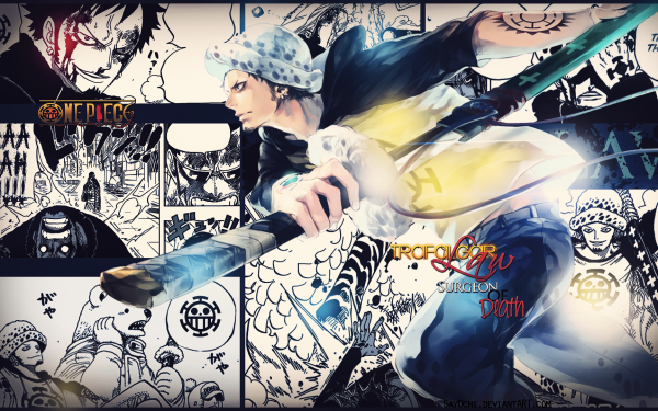 Anime One Piece Trafalgar Law HD Wallpaper   Background Image