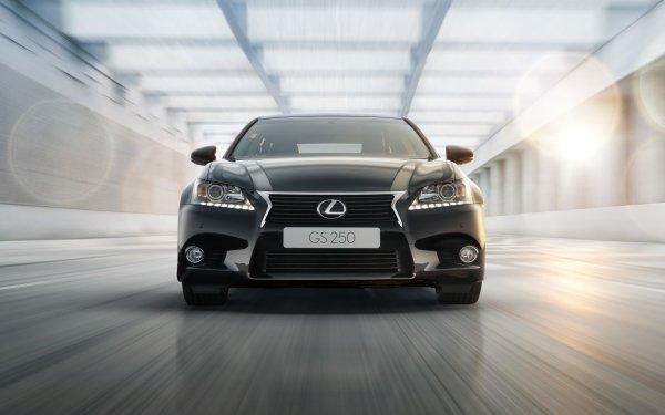 Vehicles Lexus GS Lexus Luxury Car Black Car Car HD Wallpaper | Background Image