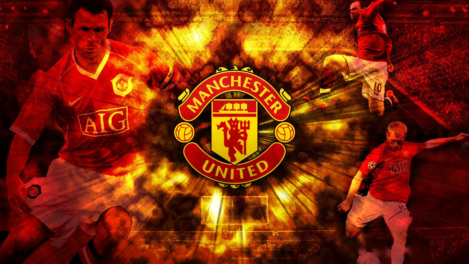 3 manchester united fc hd wallpapers background images manchester united hd wallpaper background image id740337 voltagebd Images