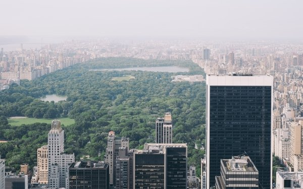 Man Made Central Park New York USA Park Building HD Wallpaper   Background Image