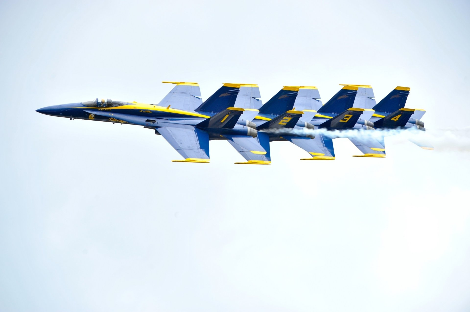 Military - Air Show  Blue Angels Aircraft Navy McDonnell Douglas F/A-18 Hornet Jet Fighter Military Wallpaper