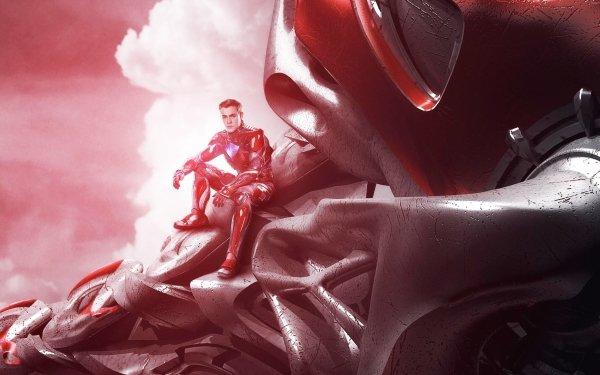 Movie Power Rangers (2017) Power Rangers Red Ranger Jason Lee Scott Zord HD Wallpaper   Background Image