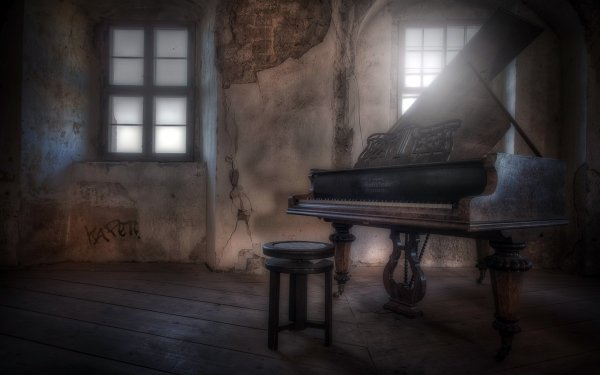 Music Piano Dark HD Wallpaper | Background Image