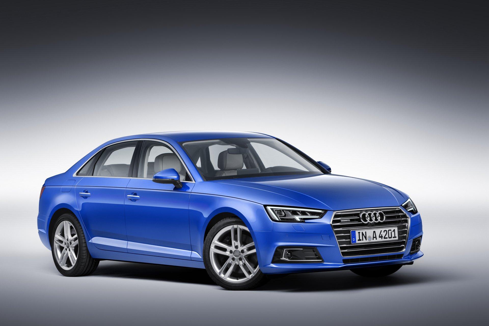 座驾 - Audi A4  奧迪 Blue Car 汽车 交通工具 Luxury Car 壁纸