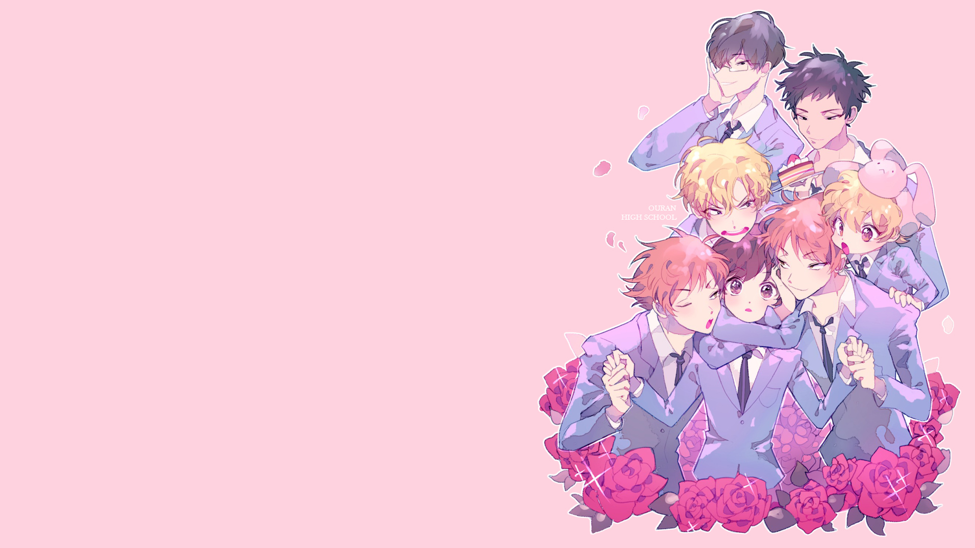 Ouran High School Host Club Hd Wallpaper Background Image