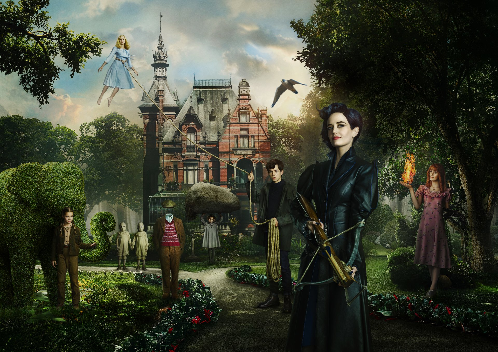 15 Miss Peregrine S Home For Peculiar Children Hd Wallpapers