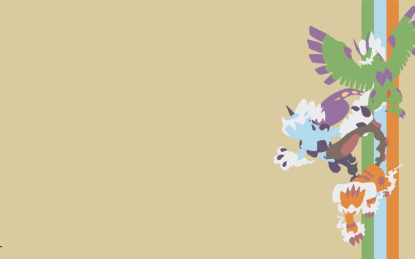 Anime Pokémon Tornadus Thundurus Landorus Minimalist HD Wallpaper   Background Image