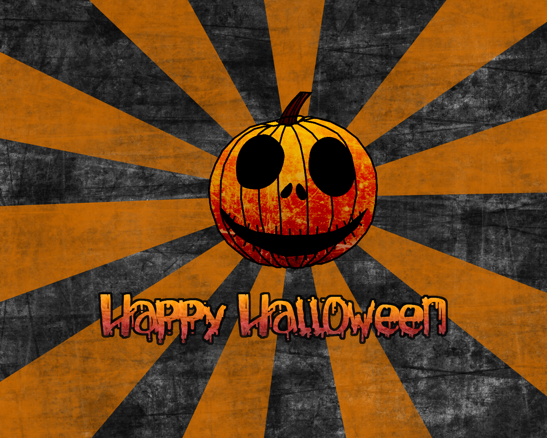 Holiday - Halloween  Happy Halloween Holiday Pumpkin Stripes Jack-o'-lantern Wallpaper
